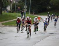 Ironkids US Meisterschaft Triathlon 2011 Lizenzfreie Stockfotografie