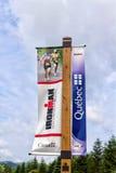Ironman横幅 免版税图库摄影
