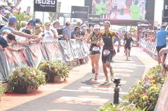 Ironman 70 чемпионат мира 3 в elizaeth порта в Южной Африке стоковое изображение rf