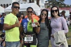 Ironman 70 在口岸elizaeth的3个世界冠军在南非 库存图片