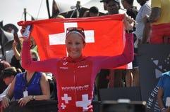 Ironman 70 在口岸elizaeth的3个世界冠军在南非 免版税库存照片