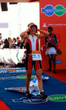 Ironman 2012 triathlete winner Royalty Free Stock Photos