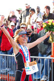 Ironman 2012 triathlete winner Stock Photo
