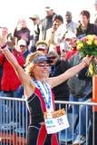 Ironman 2012 triathlete winner Stock Photo