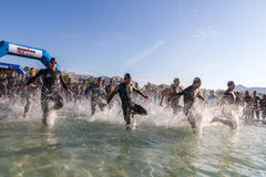 Ironman in Alcudia Stock Images