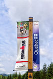 Ironman banner Royalty Free Stock Photography