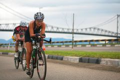 IRONMAN Brazil 2009 Stock Images