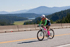 Ironman Coeur d'Alene Royalty Free Stock Photography