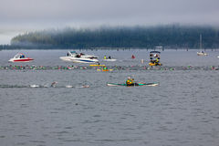Ironman Coeur d'Alene Stock Photo