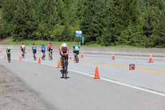 Ironman Coeur d'Alene Royalty Free Stock Photos