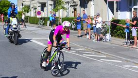 Ironman Cyclists Stock Images