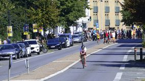 Ironman Cyclists Royalty Free Stock Images