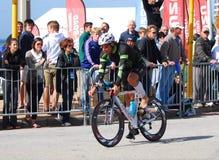 ironman cyklisty triathlete obraz stock