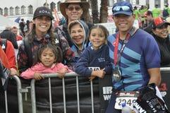 Ironman 70 d'Izuzi championnat des 3 mondes à Port Elizabeth en Afrique du Sud photos stock