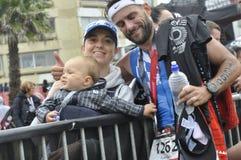 Ironman 70 de Izuzi campeonato de 3 mundos en Port Elizabeth en Suráfrica imágenes de archivo libres de regalías