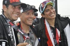 Ironman 70 de Izuzi campeonato de 3 mundos en Port Elizabeth en Suráfrica fotografía de archivo libre de regalías