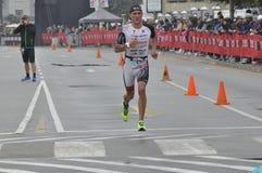 Ironman 70 de Izuzi campeonato de 3 mundos en Port Elizabeth en Suráfrica foto de archivo libre de regalías