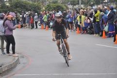 Ironman 70 de Izuzi campeonato de 3 mundos en Port Elizabeth en Suráfrica imagenes de archivo