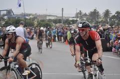 Ironman 70 di Isuzu un campionato di 3 mondi in Sudafrica fotografie stock