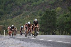 Ironman 70 3 die Türkei 2015 lizenzfreies stockfoto