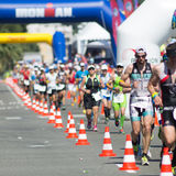 Ironman 2013 edition,Nice,France Royalty Free Stock Image