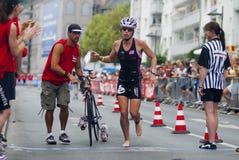 Ironman Francoforte Fotografia de Stock Royalty Free