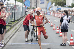 Ironman Frankfurt Stock Images
