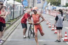Ironman Frankfurt Stockbilder