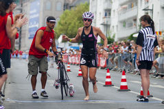 Ironman Frankfurt Royalty Free Stock Photography