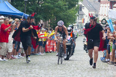 Ironman Frankfurt Lizenzfreie Stockfotos