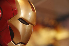 Iron man Head model Royalty Free Stock Photo