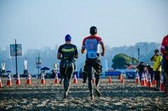 Ironman 70.3 Lima - Peru 2018 royalty free stock photography
