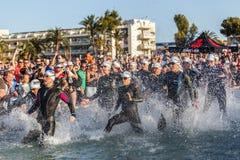 Ironman Mallorca połówki odległość Fotografia Stock