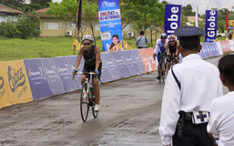 Ironman Philippines bicycle race Royalty Free Stock Images