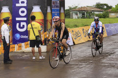 Ironman Philippines bicycle race Stock Images