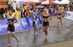 Ironman Philippines marathon run race Royalty Free Stock Photography