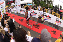 Ironman Philippines marathon run race finish Royalty Free Stock Image