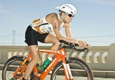 ironman phoenix triathlon Arkivbild
