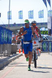 Ironman Südafrika 2011 Lizenzfreies Stockbild