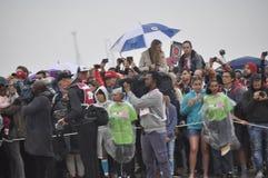 Ironman Südafrika - Weltmeisterschaft in Port Elizabeth in Südafrika lizenzfreie stockfotos