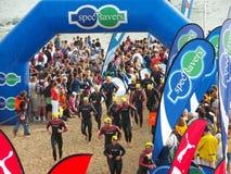 Ironman SA 2008 Images libres de droits