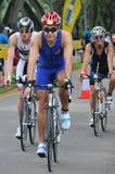 ironman singapore för aviva triathlon 2011 Royaltyfri Foto
