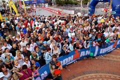 Ironman spectators royalty free stock photos