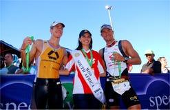 Ironman Sudafrica 2010 Fotografia Stock Libera da Diritti