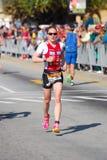 Ironman triathlete Betrieb stockfotos