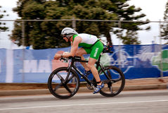 Ironman triathlete Peter Schoissengeier stock photos