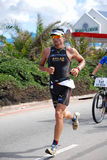 Ironman triathlete Raynard Tissink Royalty-vrije Stock Afbeeldingen