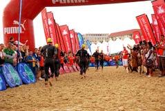 Ironman triathlon royalty free stock photo