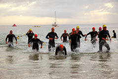 Ironman triathlon South Africa 2008 royalty free stock photo