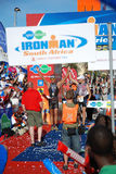 Ironman triathlon winners Royalty Free Stock Images